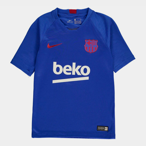 Barcelona Strike T-Shirt 2019 2020 Junior