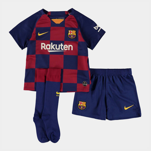 FC Barcelona 19/20 Home Mini Kids Kit