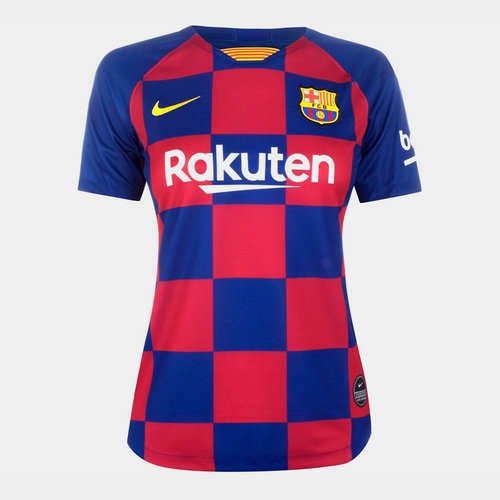 Barcelona Home Shirt 2019 2020 Ladies