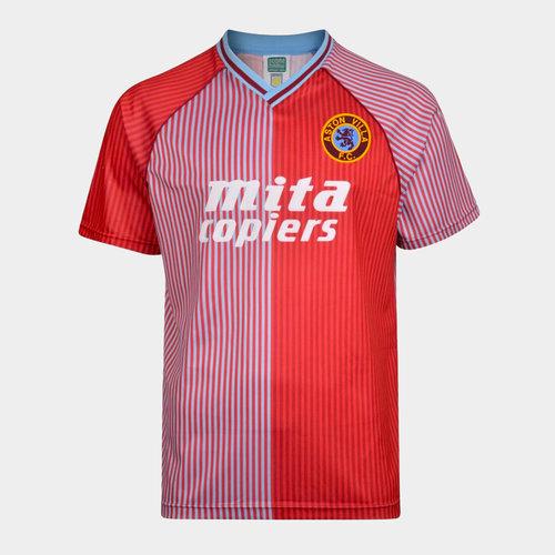 Aston Villa 88 Home S/S Retro Football Shirt