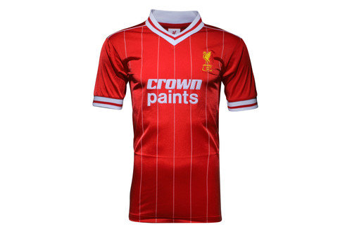 Liverpool 1982 S/S Retro Football Shirt