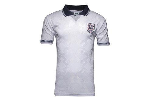 England 1990 World Cup Final No 19 Retro Football Shirt