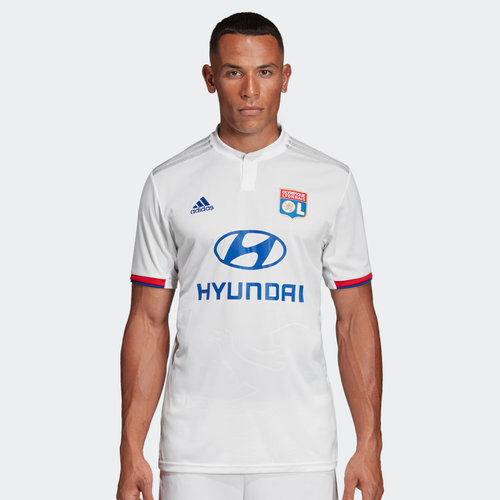 Lyon 19/20 Home S/S Football Shirt