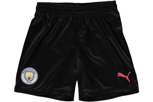 Manchester City 19/20 Kids Away Football Shorts