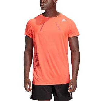 Mens Running Adizero Heat.Rdy T Shirt