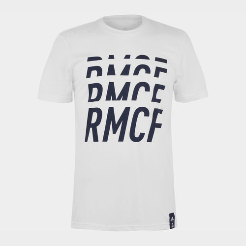 Real Madrid DNA T Shirt Mens