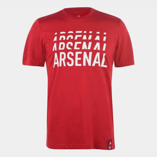 Arsenal DNA T Shirt Mens