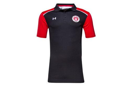 FC St Pauli 16/17 Players Football Polo Shirt
