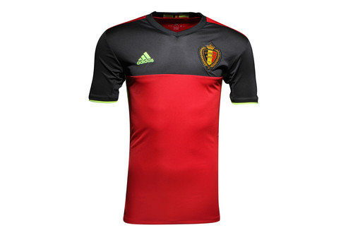 Belgium 16/17 Home Replica S/S Football Shirt