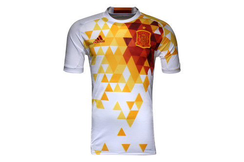 Spain EURO 2016 Away S/S Replica Football Shirt