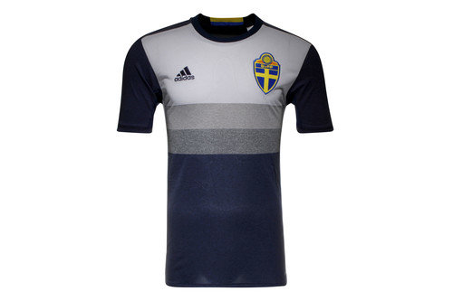 Sweden EURO 2016 Away Replica Football Shirt