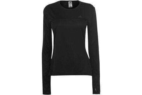 Own The Run Long Sleeve T Shirt Ladies