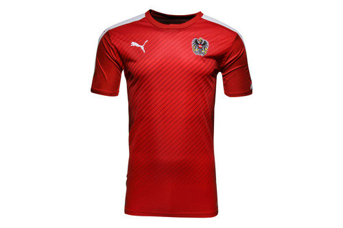 Austria 16/17 Home S/S Replica Football Shirt