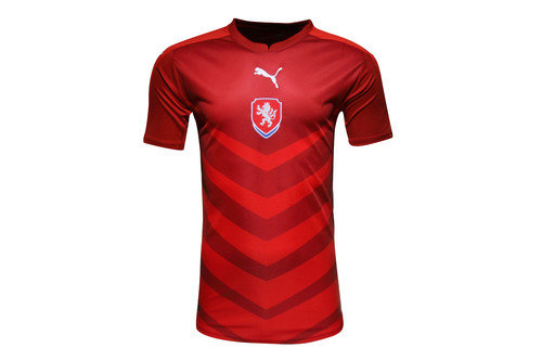 Czech Republic EURO 2016 Home S/S Replica Football Shirt