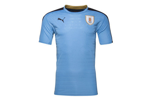 Uruguay 2016 Home S/S Replica Football Shirt