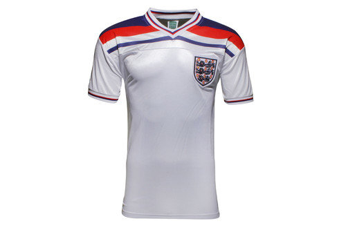 England 1982 World Cup Finals Home Retro Football Shirt