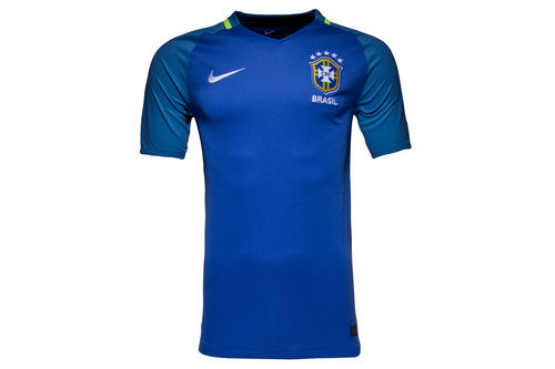 Brazil 2016 Away S/S Replica Football Shirt