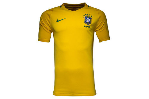 Brazil 2016 Home S/S Replica Football Shirt