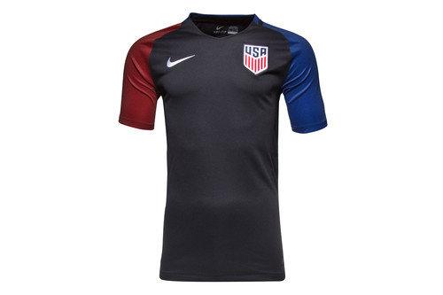 USA 2016 S/S Away Stadium Football Shirt