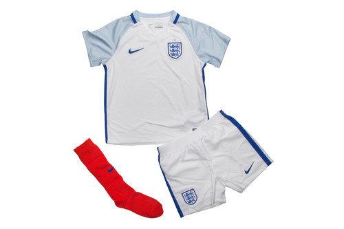 England 2016 Little Kids Home Replica Football Kit