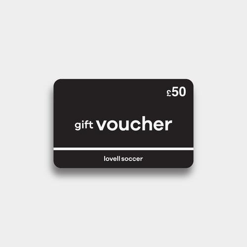Lovell Soccer £50 Virtual Gift Voucher