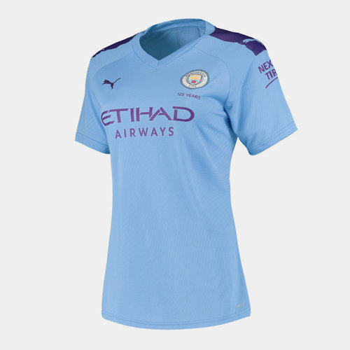 Manchester City 19/20 Ladies Home S/S Football Shirt