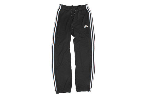 Essentials 3 Stripe Cuffed Bottom Pants Black