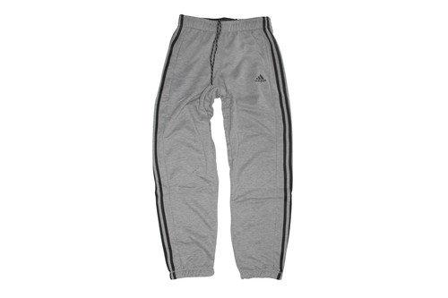 Essentials 3 Stripe Cuffed Bottom Pants Black