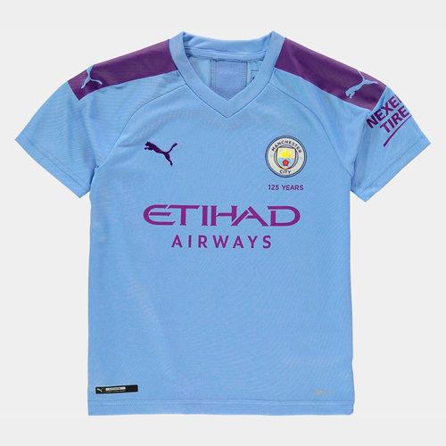 Manchester City 19/20 Kids Home S/S Football Shirt
