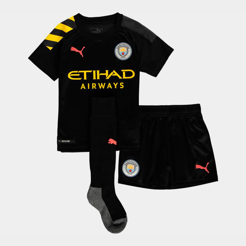 Manchester City Away Mini Kit 2019 2020