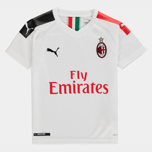 AC Milan 19/20 Kids Away S/S Football Shirt