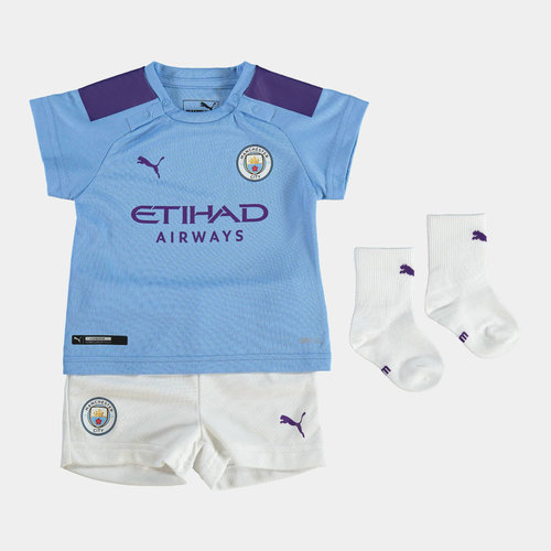 Manchester City 19/20 Home Baby Football Kit