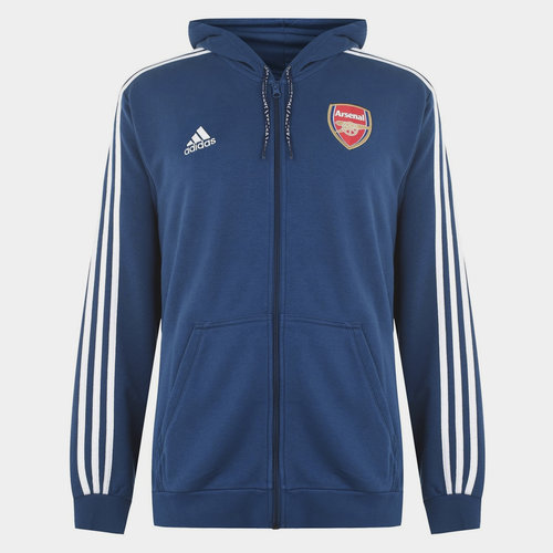 Arsenal 19/20 Full Zip Hooded Football Top