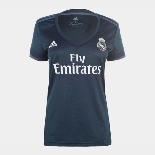Real Madrid Away Shirt 2018 2019 Ladies