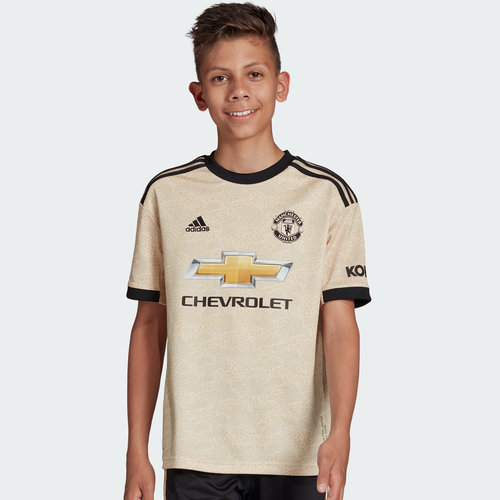 Manchester United 19/20 Kids Away S/S Football Shirt