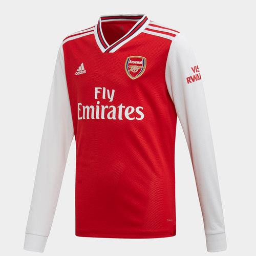 Arsenal 19/20 Kids Home L/S Football Shirt