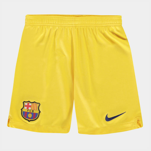 FC Barcelona 19/20 Away Kids Football Shorts