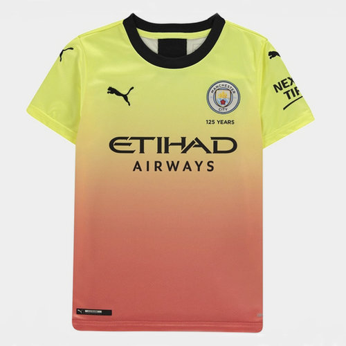 Manchester City 19/20 Kids 3rd S/S Football Shirt