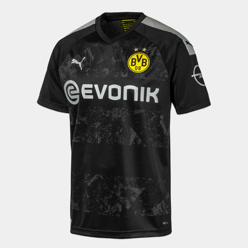 Borussia Dortmund 19/20 Kids Away S/S Football Shirt