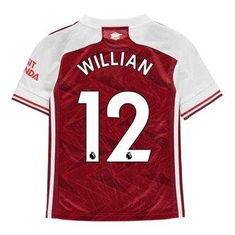 Arsenal Willian Home Shirt 20/21 Kids