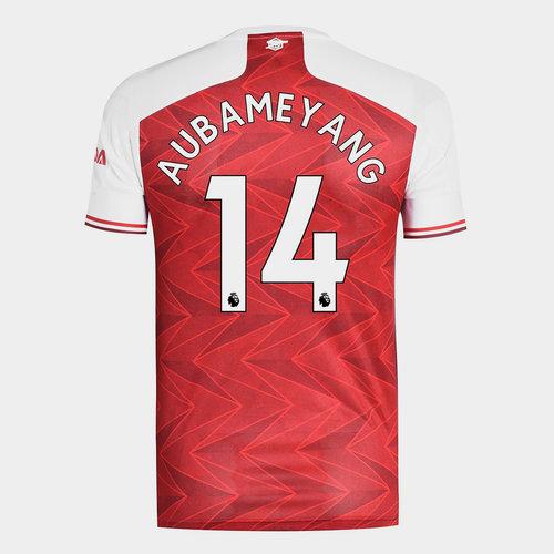 Arsenal Pierre Emerick Aubameyang Home Shirt 20/21 Mens