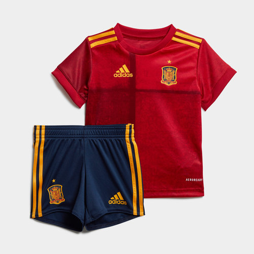 Spain 2020 Home Baby Football Kit
