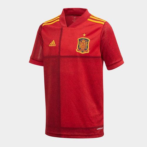Spain 2020 Home Kids Replica Football Shirt