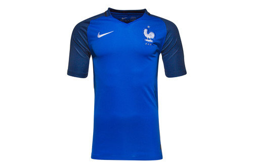 France EURO 2016 Home Stadium S/S Football Shirt