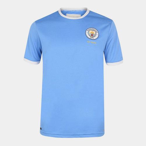 Manchester City 125th Anniversary Juniors Shirt