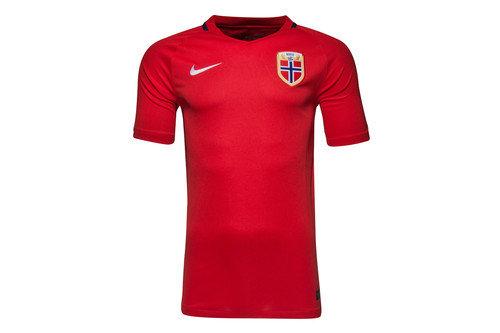 Norway 2016 Home Stadium S/S Football Shirt