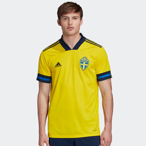 Sweden 2020 Home Replica Football Shirt