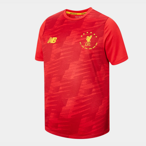 Liverpool 6 Times T-Shirt Junior