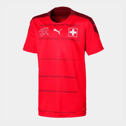 Switzerland 2020 Kids Home Football Shirt
