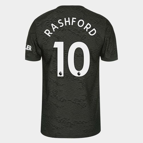 Manchester United Marcus Rashford Away Shirt 20/21 Mens